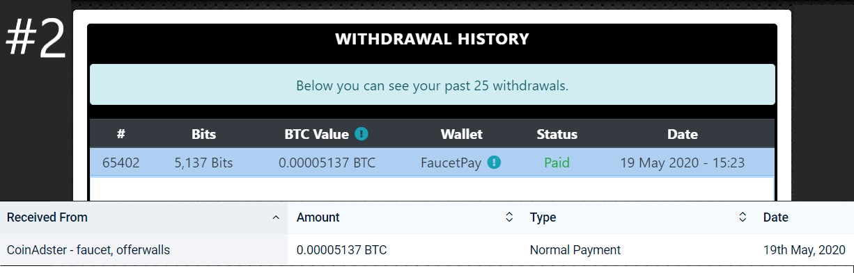 coinadster payments