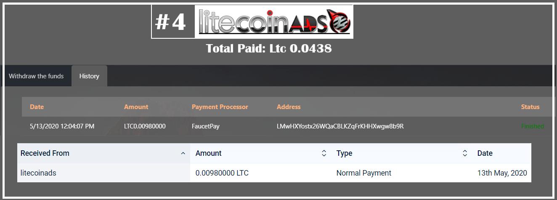 litecoinads payment
