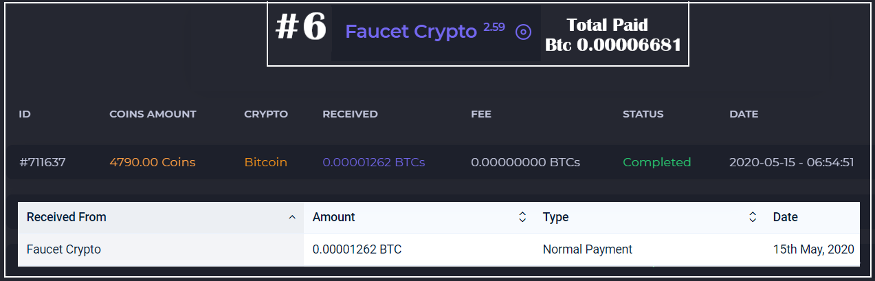 faucetcrypto payment proofs