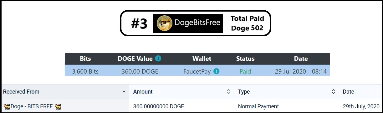 dogebitsfree payment