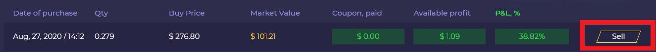 gameplex sell profit
